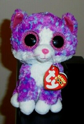 Beanie Boo Cats (Ty Beanie Boo - CHARLOTTE the Cat (6 Inch)(Claire's Exclusive) NEW)