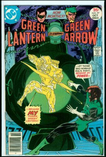 DC Comics GREEN LANTERN #97 Green Arrow VFN- 7.5