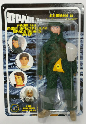 """Space 1999 NUMBER 8/ FROM """"ONE MOMENT OF HUMANITY"""" 8"""" Action Fig 2005"""