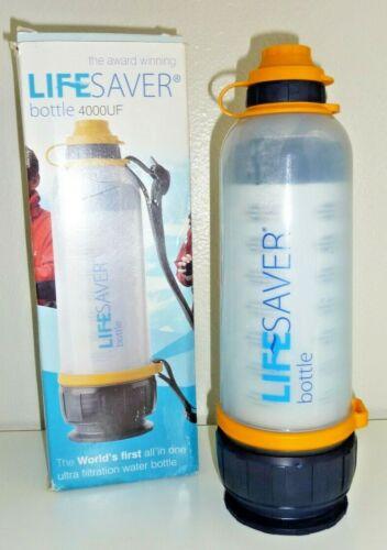 LIFESAVER Water Filtration Filter Bottle Purifier kit for Camping Emergency prep