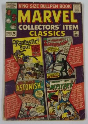 Marvel Collectors Item Classics #1 (1965) 1st Print 3.5 VG-