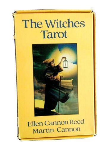 The Witches Tarot Ellen Cannon Reed Llewellyn 78 Card Set + Book Complete