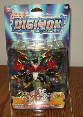 BANDAI DIGIMON ACTION FIGURE IMPERIALDRAMON FIGHTER MODE -FREE COMBINE SHIPPING