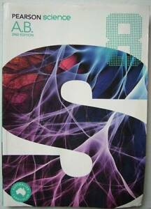 5 pages used - Pearson Science 8 Activity Book (2nd Edition)