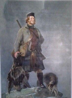 Scotland  The Highlander  Sir Edwin Landseer Genuine Reproduction Oil Painting  - Sir Edwin Landseer