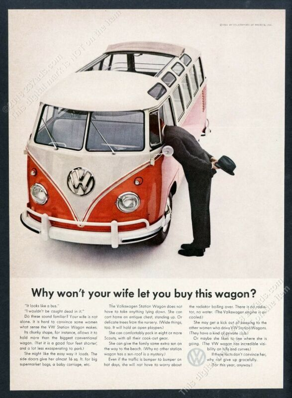 1961 VW Bus with sunroof photo Why Won