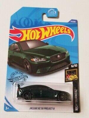 2020 Hot Wheels Jaguar XE SV Project 8 * J Case * NIP 1:64 Scale