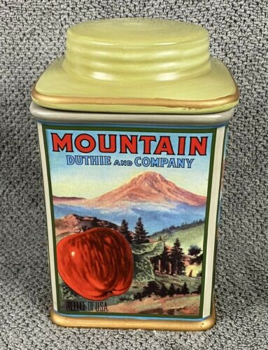 """Oneida Vintage Label Collection Canister 7"""" - Mountain Duthie and Company"""
