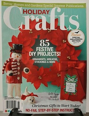 Better Homes Holiday Crafts DIY Projects Christmas Gifts 2016 FREE SHIPPING JB](Diy Christmas Projects)