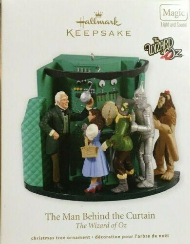 "2012 Hallmark Keepsake Ornament. The Wizard of Oz. ""The Man Behind the Curtain."""