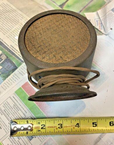 Vintage  Speaker  4 inch diameter  used circa 1920 or 1930s