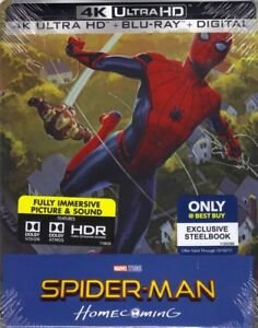 Looking for Spider-man Homecoming steelbook