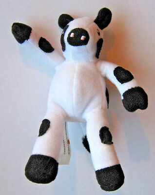 Chick Fil A Cow, Cute Plush Collectible Promotional Cow, 6 Inches Tall