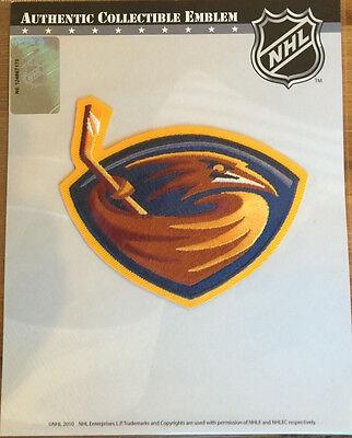 NHL Hockey Patch Team Logo Atlanta Thrashers Official Licensed Atlanta Thrashers Hockey Team