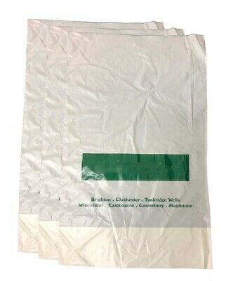 4000 Job Lot Clearance Patch Handle Carrier Bags Plastic Fashion Gift Bags 8x12