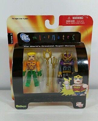 DC Universe Minimates Series 3 - Aquaman / Oceanmaster Action Figures New