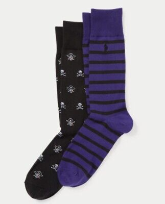 POLO RALPH LAUREN Pirate & Skull Socks 2-Pack - Pirate Socks