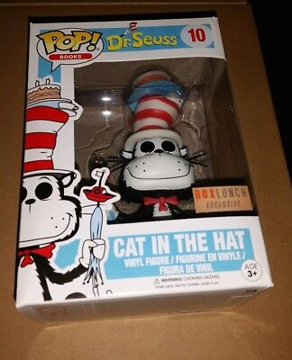 Funko Pop cat in the hat fish cake box lunch exclusive - Cake Pop Boxes