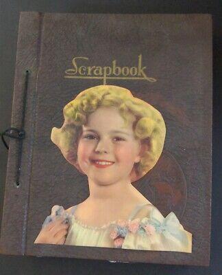 SHIRLEY TEMPLE Original Vintage 1935 Huge Scrapbook 120+ Pages LOADED!