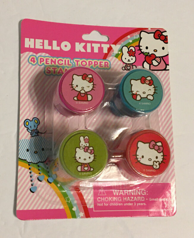 Hello Kitty Pencil Topper Stamp