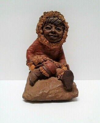 """Tom Clark """"Kanuk"""" Eskimo Gnome 1983 Retired Edition Number 22 Cairn Studio"""