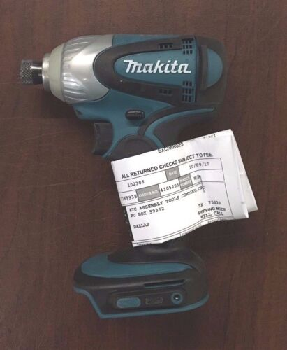 "Makita BTD141Z Cordless Impact Driver; Factory Rebuilt, Tool only, 18V, 1/4"" hex"