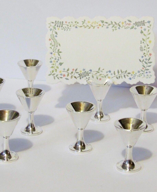 8 marques-place porte-carte photo métal table verre martini argent pottery barn