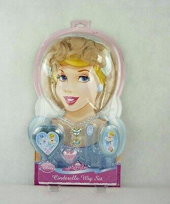 Disney Princess Rubies 5325 Cinderella VerkleidungsSet Perücke & Schmuck