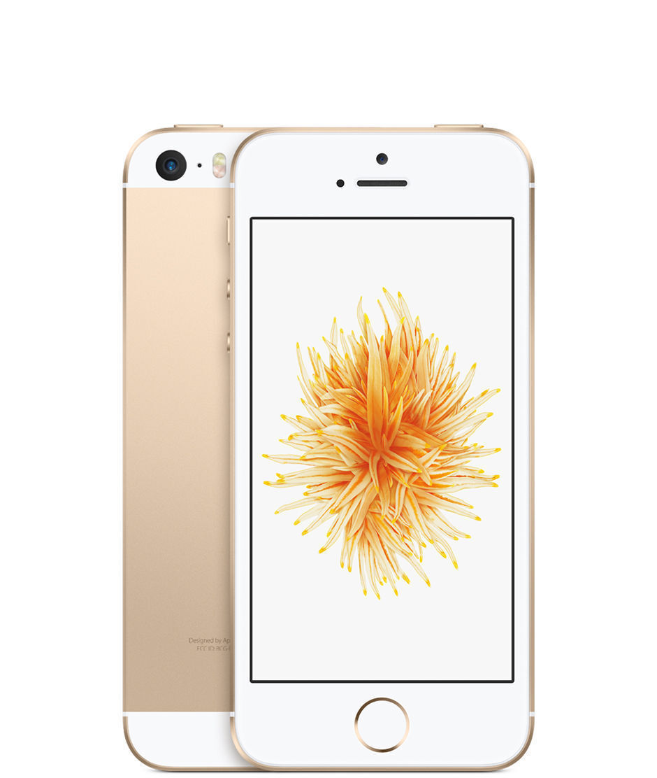 Apple iPhone SE - 32GB - Gold (TracFone) A1662 (CDMA + GSM)