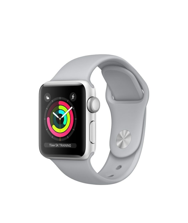 New Apple Watch Series 3 42mm Smartwatch GPS Aluminum Case Sport Band Fog