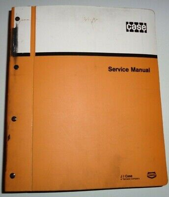 Case 850e 855e Crawler Tractor Loader Dozer Service Shop Repair Manual Original