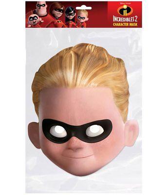Dash Parr Offiziell Incredibles 2 2d Karten Party Gesichtsmaske Kostüm