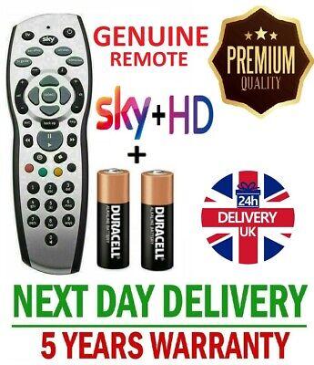 NEW SKY + PLUS HD REV 9f  REMOTE CONTROL GENUINE REPLACEMENT HQ UK