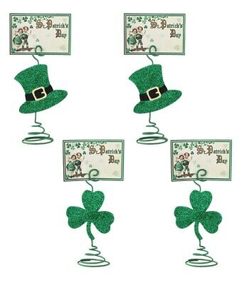 Bethany Lowe St Patricks Day Luck O The Irish Card Holder 4pc Table Decorations](Irish Halloween Cards)