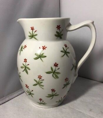 Early Pretty Vintage Royal Copenhagen Hand Painted Pitcher Jug