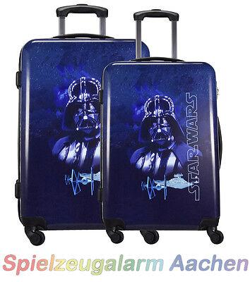 2 Koffer  52L+ 87L Trolley Star Wars Darth Vader Hartschalenkoffer Trolleyset ()