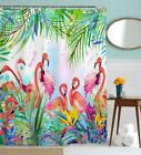 Polyester Tropical Shower Curtain Set Shower Curtains