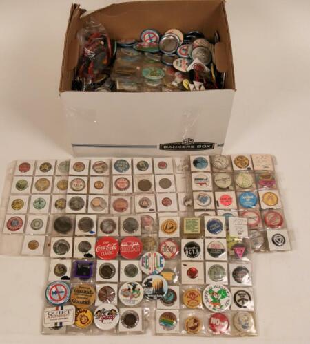 500+ Vintage Pin Collection Political Endorsements Advertising Button Pinback
