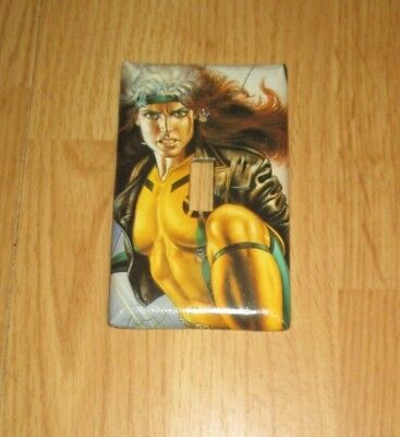 ROGUE from X-MEN SUPERHERO Light Switch Cover Plate ](Superhero Rogue)