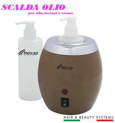 Wärmt für Öl Massage Professional + Behälter 250ml Kosmetikerin Lotionen