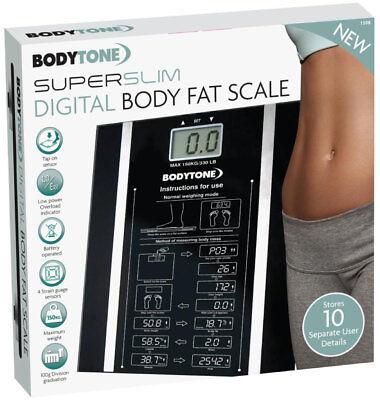 Digital Body Fat Analyser Scales BMI Healthy 150KG Weighing Scale Weight (Healthy Body Fat Analyzer)
