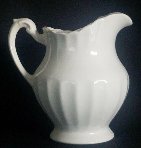 Vintage J G Meakin Classic White Creamer - $8.95