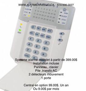 Systeme alarme pièces