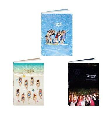TWICE - Summer Nights [Random ver.] CD+Folded Poster+Free Gift+Tracking no.