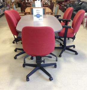 Office Table with 5 chairs