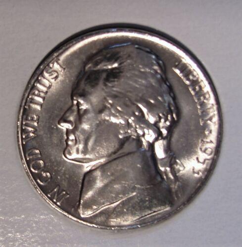 1953 S BU Jefferson Nickel Pulled From OBWRoll