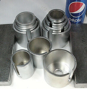 12 to 20 ton Bushing Bearing Install Remove 10 DRIVER Set + Steel Press Plates