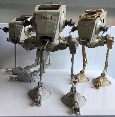 Star Wars AT-ST Walker Vintage 1980 Vehciles X3 Toys Kenner Bundle ESB ROTJ