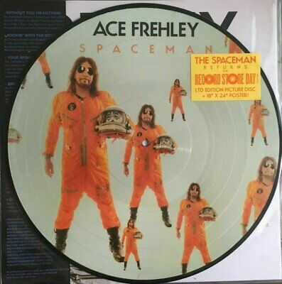 Ace Frehley - Spaceman Picture Disc LP NEW 2019 RSD