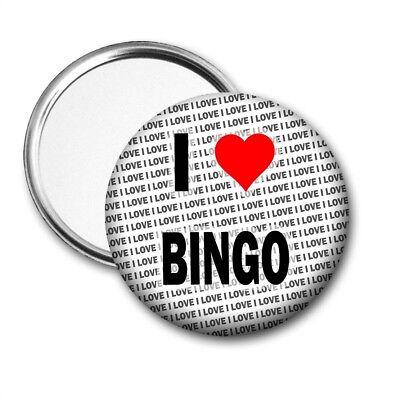 Ich Liebe Bingo Taschen Spiegel - Geschenk - Geburtstags - Socken Füller